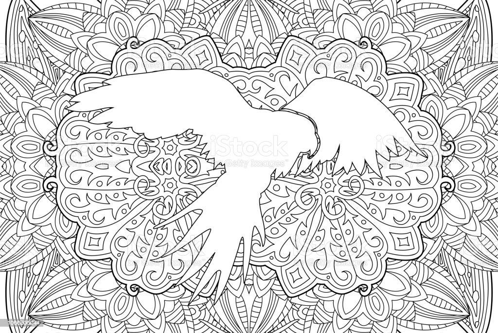 Adulte Beau Livre Coloriage Avec Perroquet Vecteurs Libres De Droits Et Plus D Images Vectorielles De Afrique