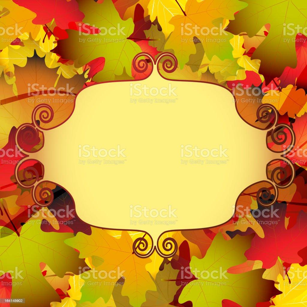 Beautiful autumn background royalty-free beautiful autumn background stock vector art & more images of autumn