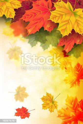 istock Beautiful Autumn Background 165976767