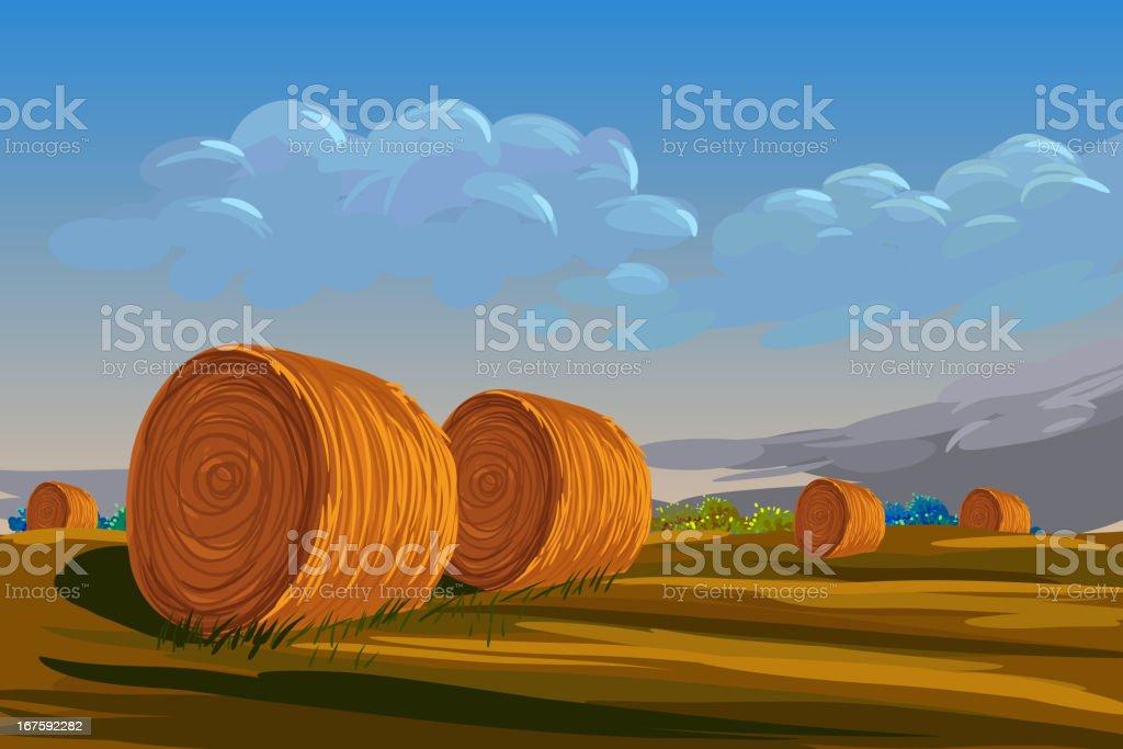 Beautiful Autumn Background vector art illustration