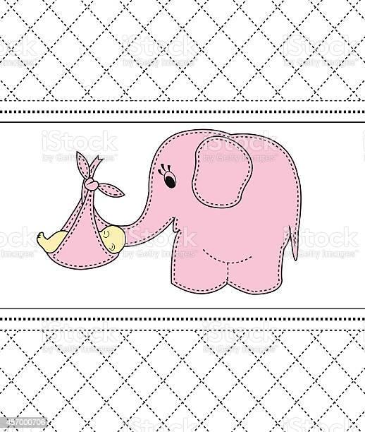 Beautiful baby girl with a card for a pink elephant vector id487000706?b=1&k=6&m=487000706&s=612x612&h=bveyzke q 3ocbznsthgxquttiksxzd3ory tzwsom8=