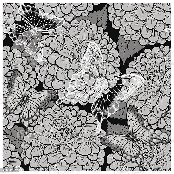 Beautiful black and white seamless background with butterflies and vector id476149757?b=1&k=6&m=476149757&s=612x612&h=6bu p54kaa5zgqai5ws7qnsasaps6ilwxuci8rmrwpm=