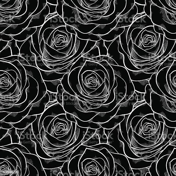 Beautiful black and white seamless pattern in roses vector id508945700?b=1&k=6&m=508945700&s=612x612&h=bufrh 92h16o44 k1sz0rd0ben7nyys4nqwonttcpgk=