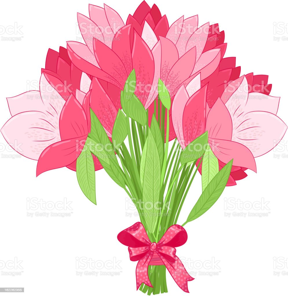 beautiful bouquet of pink tulips royalty-free beautiful bouquet of pink tulips stock vector art & more images of anniversary