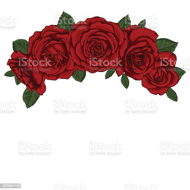 Beautiful bouquet with red roses and leaves floral arrangement vector id622964148?b=1&k=6&m=622964148&s=612x612&h=jlkd8jfof cgmnzu8ghmag0rbjmeuf6y6xy95t50zcg=