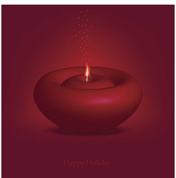 ilustraciones, imágenes clip art, dibujos animados e iconos de stock de hermosa velas para feliz navidad. - sparks