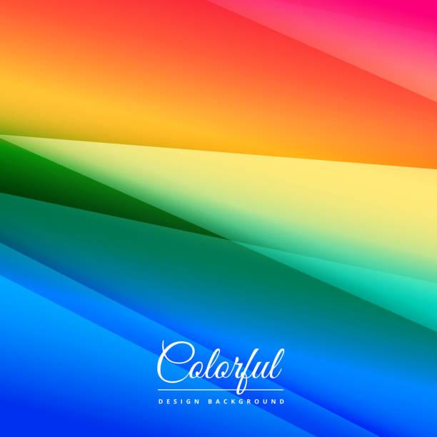 ilustraciones, imágenes clip art, dibujos animados e iconos de stock de beautiful colorful background design - fondos coloridos
