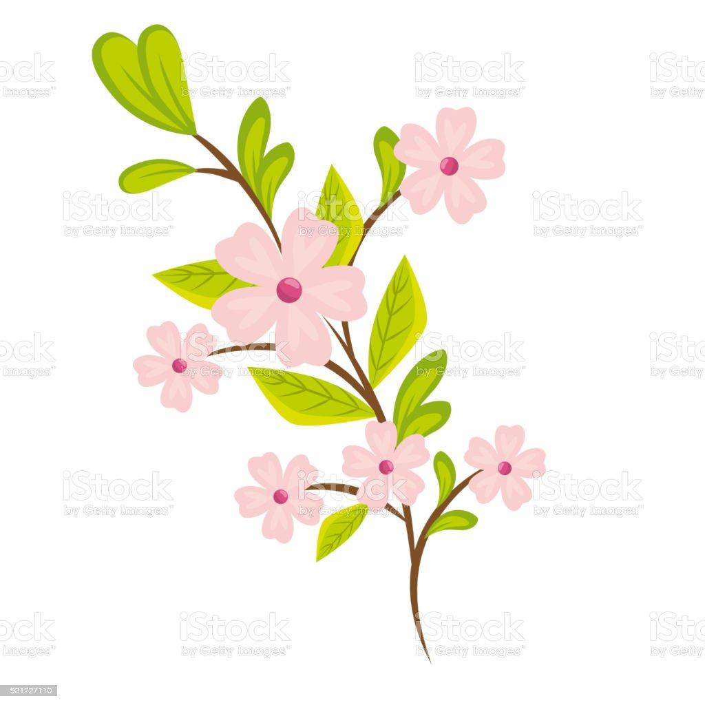 Vetores De Desenho De Lindas Flores Coloridas E Mais Imagens