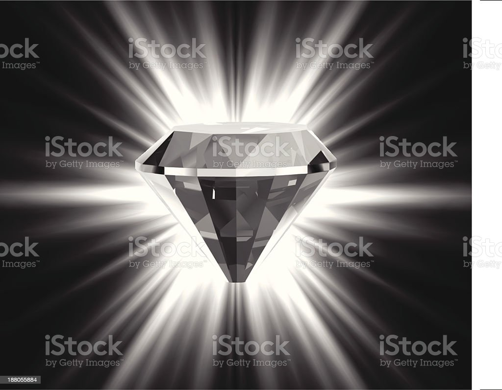 Beautiful crystal background. Vector royalty-free stock vector art