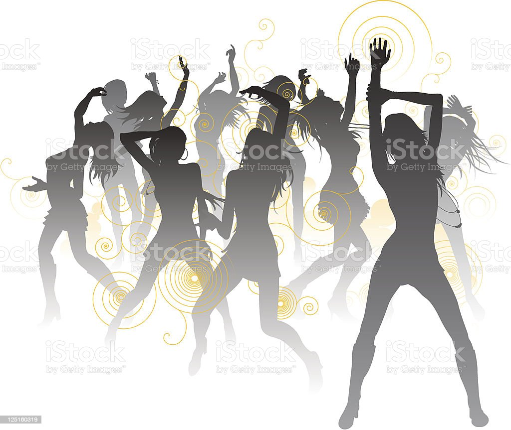 Beautiful dancers background royalty-free beautiful dancers background stock vector art & more images of adult