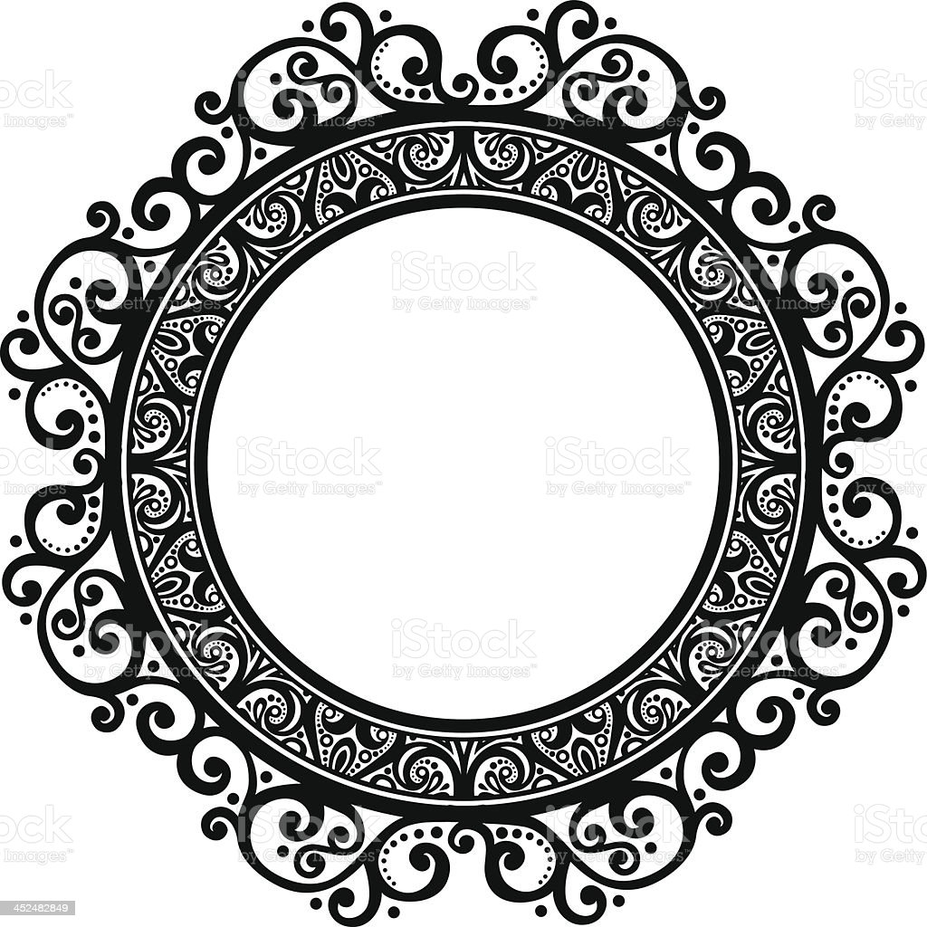 https://media.istockphoto.com/vectors/beautiful-decorative-round-frame-vector-id452482849