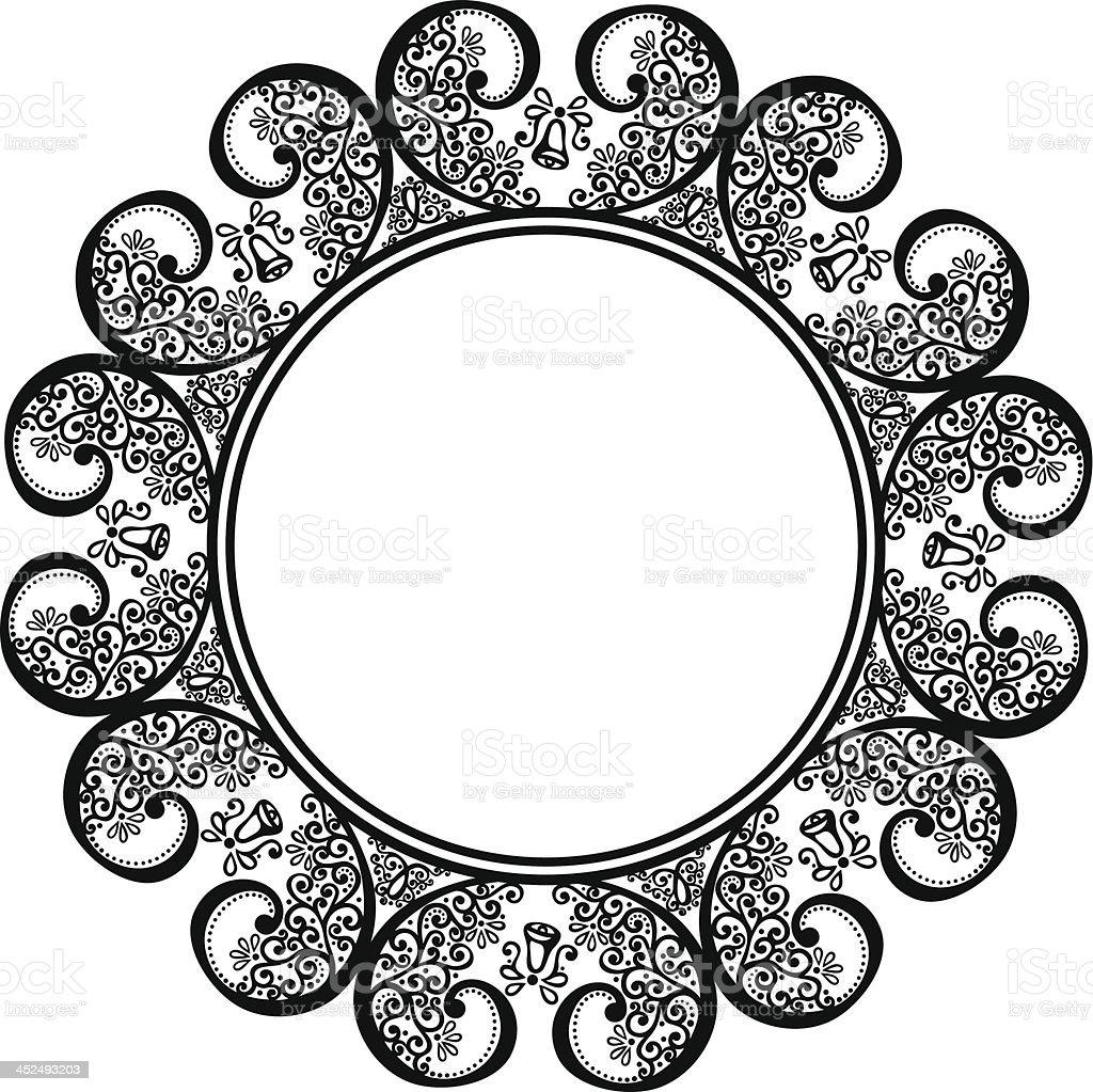 Schöne Dekorative Runde Rahmen Stock Vektor Art und mehr Bilder von ...