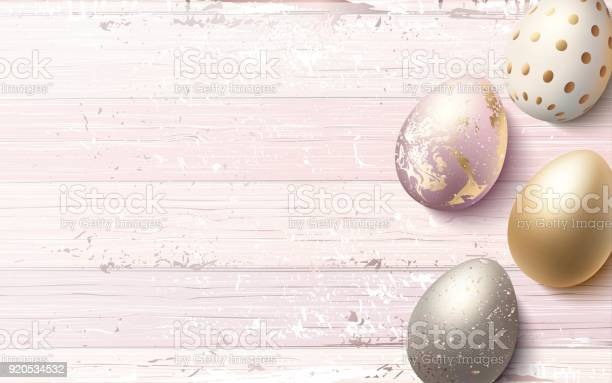 Beautiful easter golden eggs on pink shabby wooden background vector id920534532?b=1&k=6&m=920534532&s=612x612&h=c4ciqfzlko1w6dd mbsyu1wvlhsrlozbekxier733e0=