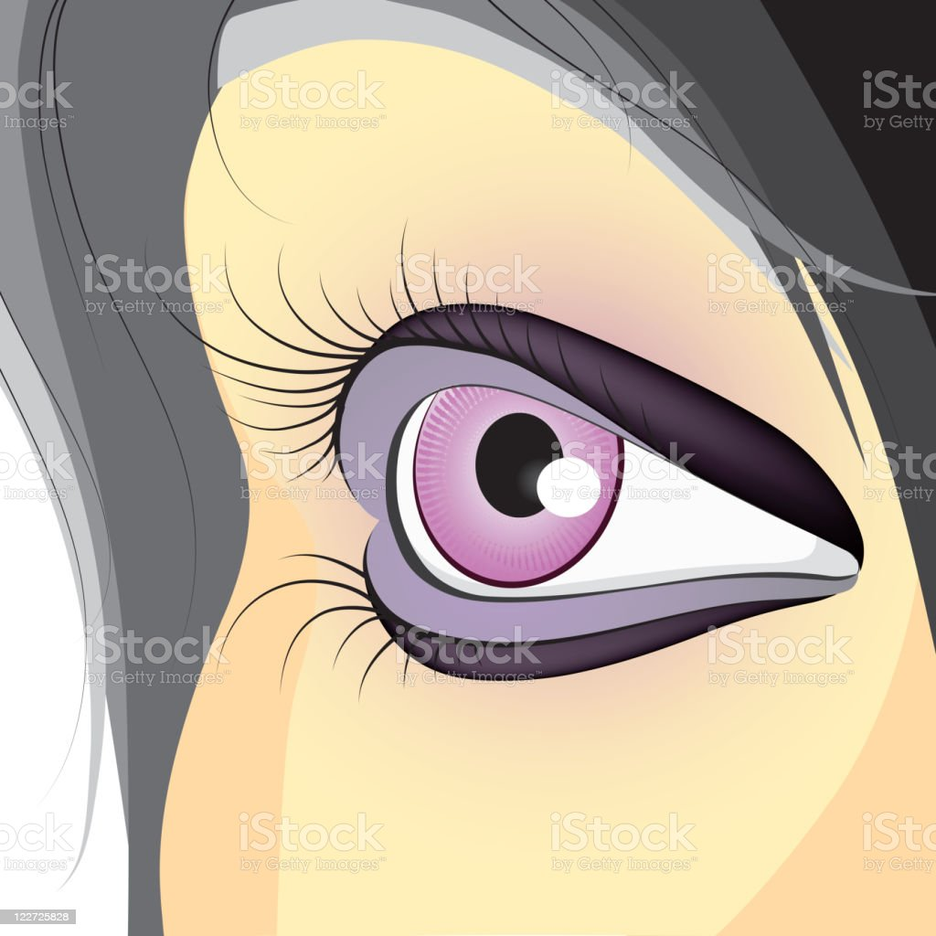 Beautiful eye royalty-free beautiful eye stock vector art & more images of abstract