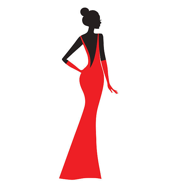 Femme de mode. - Illustration vectorielle