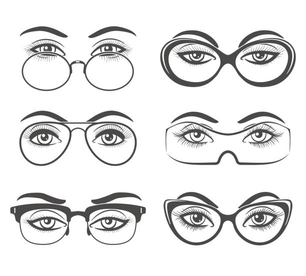 Royalty Free Opera Glasses Clip Art Vector Images