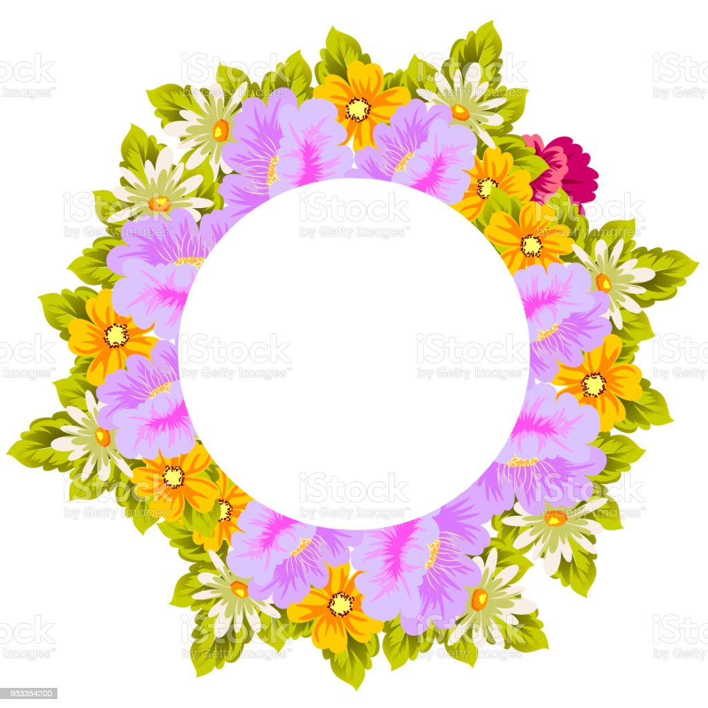 Beautiful floral frame for your designs greeting cards invitations beautiful floral frame for your designs greeting cards invitations for wedding birthday filmwisefo