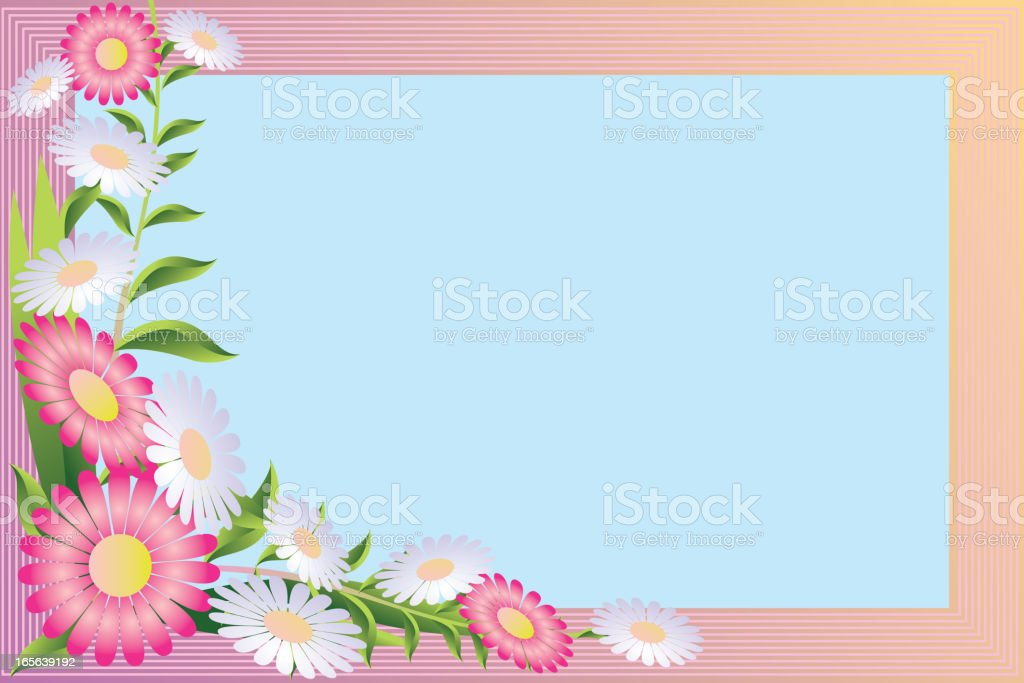 Ilustración de Marco De Flores Hermosas y más banco de imágenes de ...