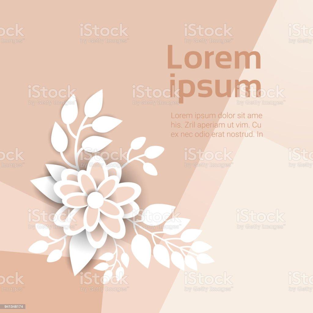 Ilustración de Hermoso Adorno Floral Fondo Decoración Pastel Colores ...
