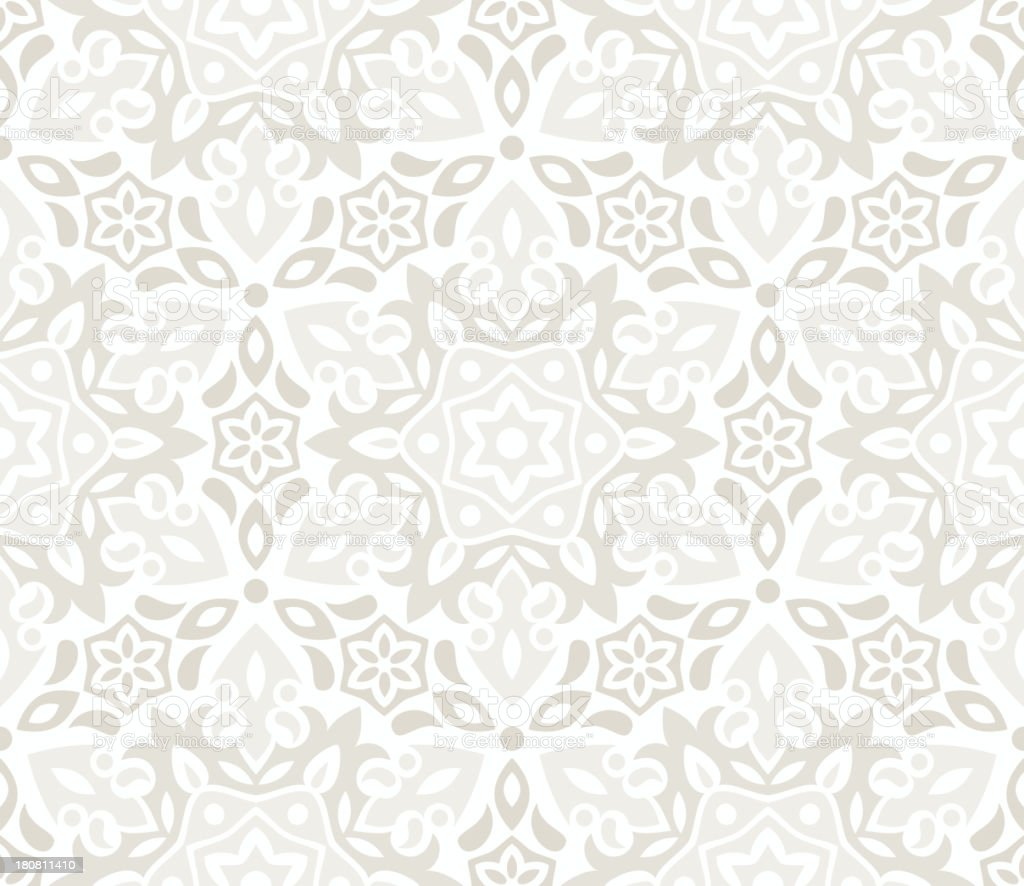 Beautiful floral wallpaper royalty-free stock vector art