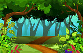 beautiful forest for you design