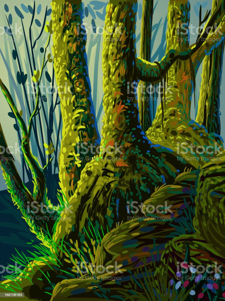 Beautiful Forest royalty-free beautiful forest stock vector art & more images of backgrounds