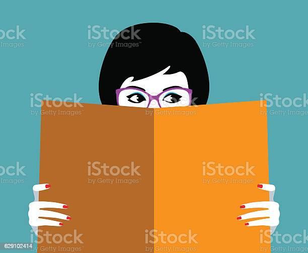 Beautiful girl face behind big book vector id629102414?b=1&k=6&m=629102414&s=612x612&h=bvs3cntjw1rpokng3h0wi0gahilvhuoxlqwmvbim pc=