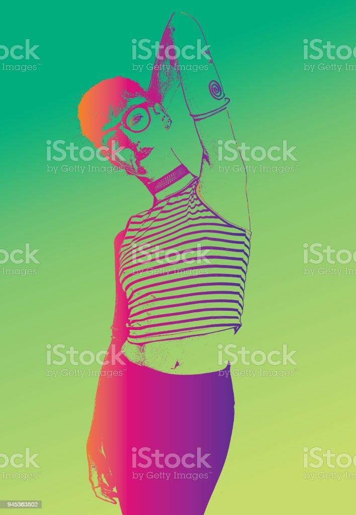 Lonh glamor lesbian tubes