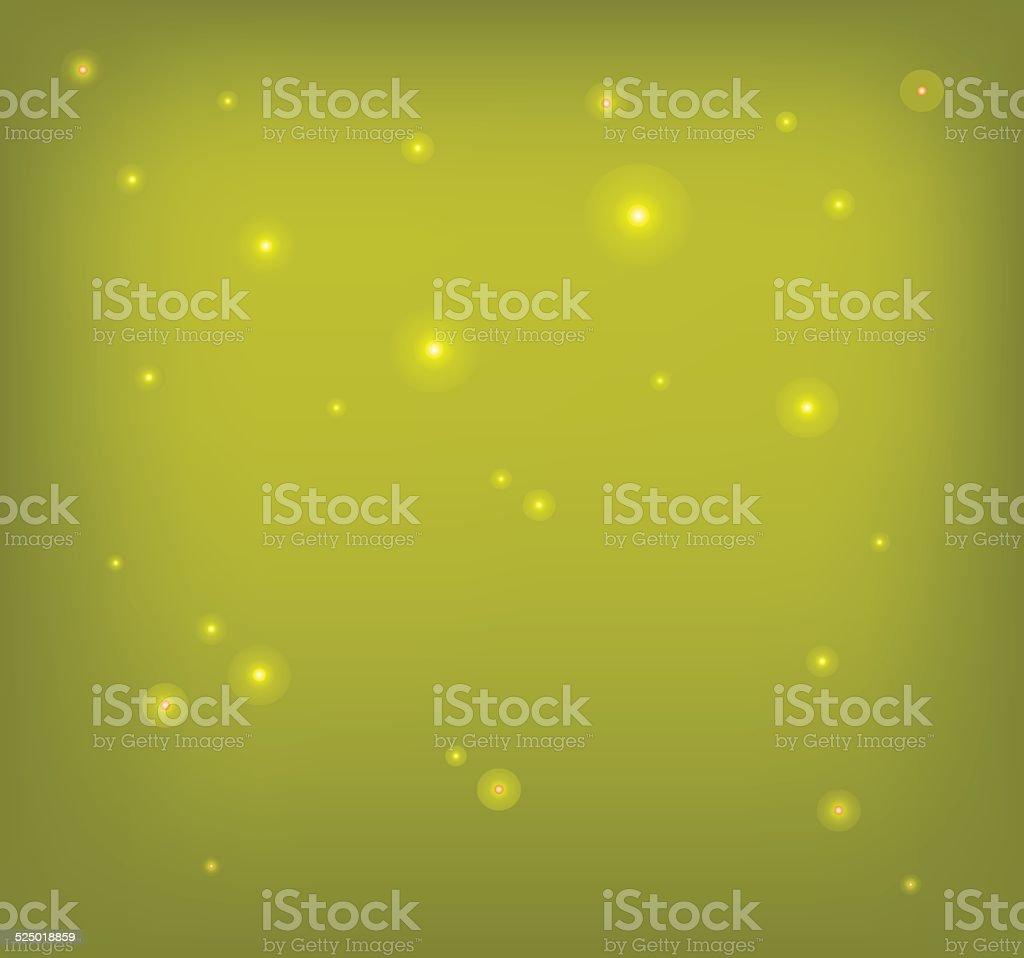 Schöne Goldene Sky Weihnachten Hintergrund Mit Funkelnden Lichter ...
