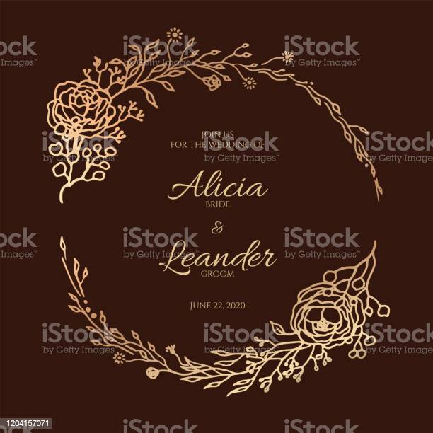 Beautiful golden leaf floral decorative wreath frame template for vector id1204157071?b=1&k=6&m=1204157071&s=612x612&h=cokuu5gbxeda9mrjuew9uodekylkjgajryrmblhtjck=