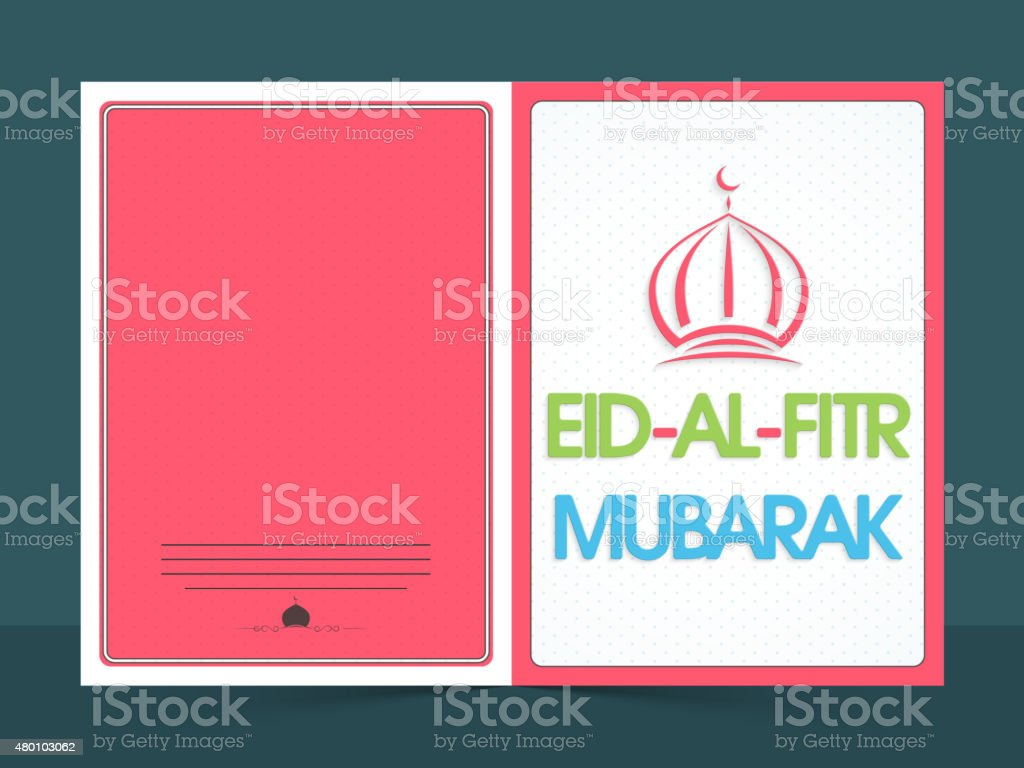 Beautiful greeting card for eid mubarak celebration stock vector beautiful greeting card for eid mubarak celebration royalty free beautiful greeting card for eid kristyandbryce Image collections