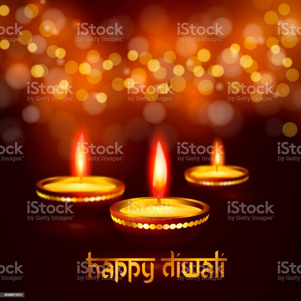 Beautiful greeting card for hindu community festival diwali happy beautiful greeting card for hindu community festival diwali happy diwali festival background illustration royalty free m4hsunfo