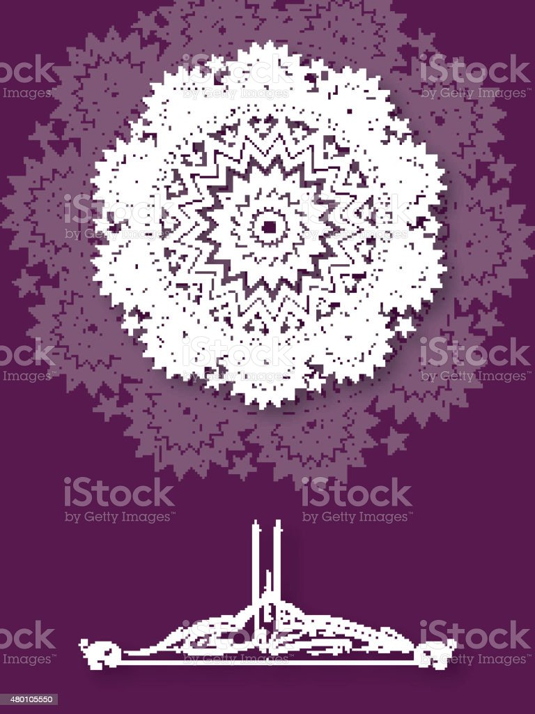 Beautiful greeting card with arabic text for eid stock vector art beautiful greeting card with arabic text for eid royalty free beautiful greeting card with kristyandbryce Image collections