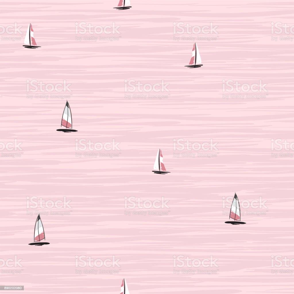 Belle Main Dessin Colore De Planche A Voile Flottant Sur Locean Vecteurs Libres De Droits Et Plus D Images Vectorielles De Carre Composition Istock