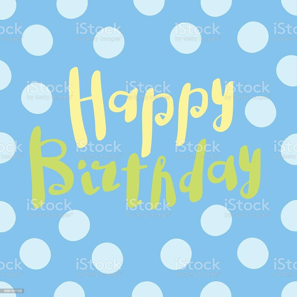 Beautiful Happy Birthday Invitation Cards Vector向量圖形及更