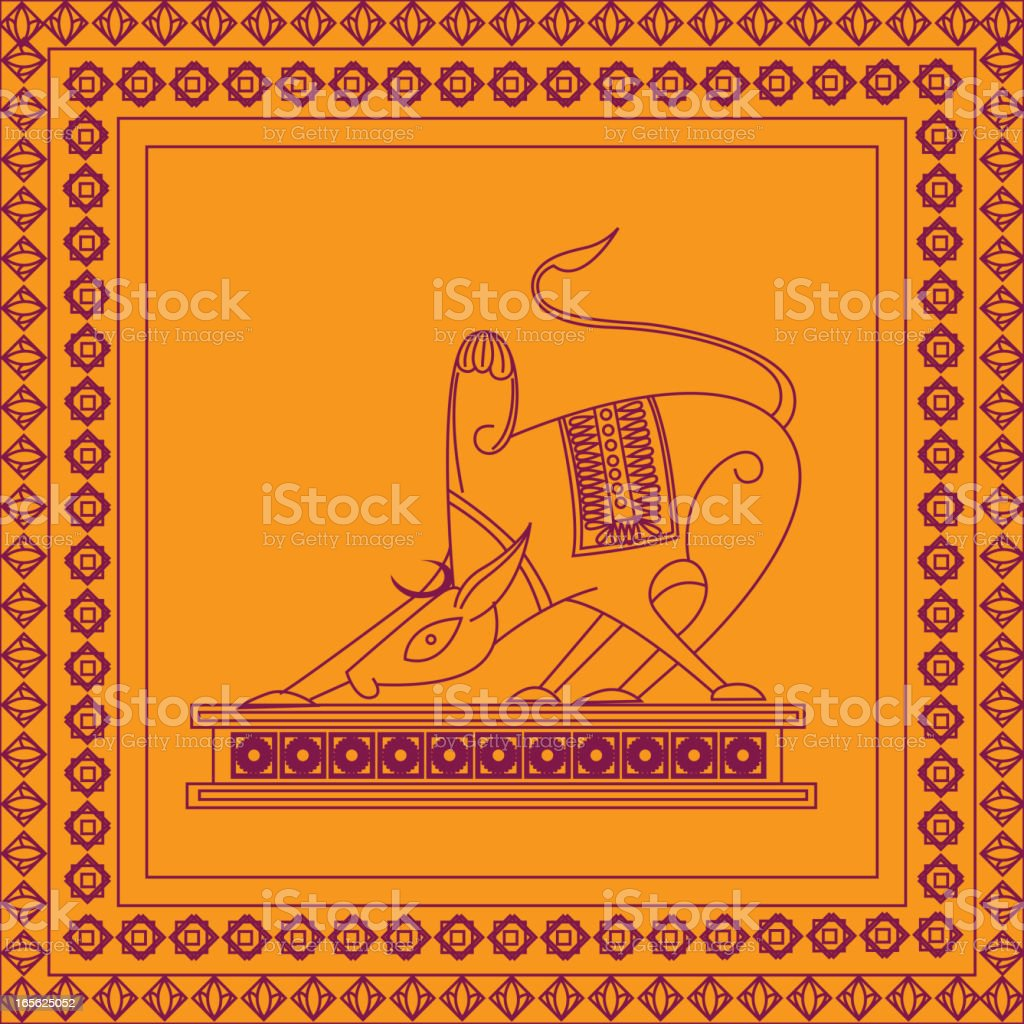 Schöne Indische Kunsthandwerk Stock Vektor Art und mehr Bilder von ...