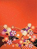 Beautiful kimono of Japan