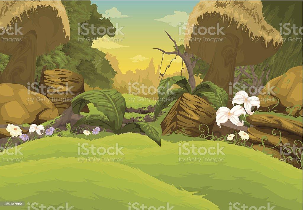 Beautiful Landscape Background royalty-free beautiful landscape background stock vector art & more images of animal