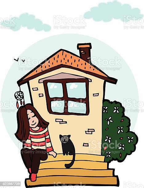 Beautiful little girl sitting on the doorstep with kitten vector id522887709?b=1&k=6&m=522887709&s=612x612&h=hftf8vzzrka0d9pphq6u byvgmgacu73o2fwgdrhe44=