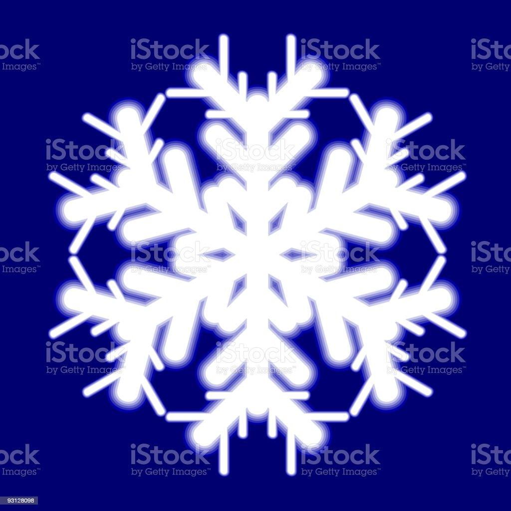 Beautiful luminous snowflake. royalty-free beautiful luminous snowflake stock vector art & more images of back lit