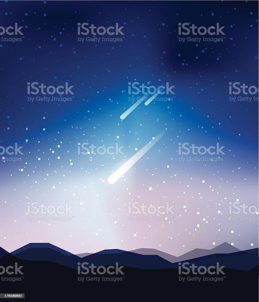 Ilustra O De Majestoso Universo Abstrato Lindo C U Noturno Fundo De  -> Imagens Do Universo Para Papel De Parede