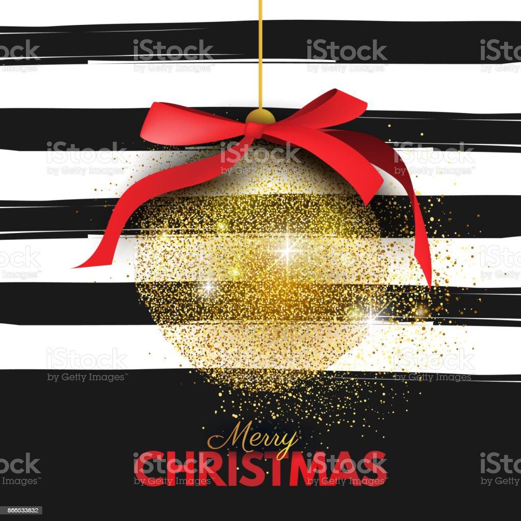 Beautiful, Merry Christmas card template, banner, layout design vector art illustration