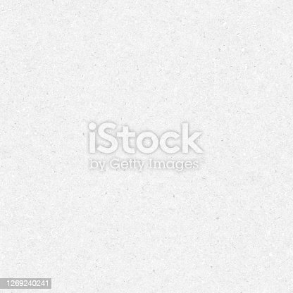istock Beautiful modern flattened imprinted handmade paper in shades of light gray - seamless vector stock illustration  with a wide natural variety of ingredients visible - construction material - pressed raw concrete formwork 1269240241