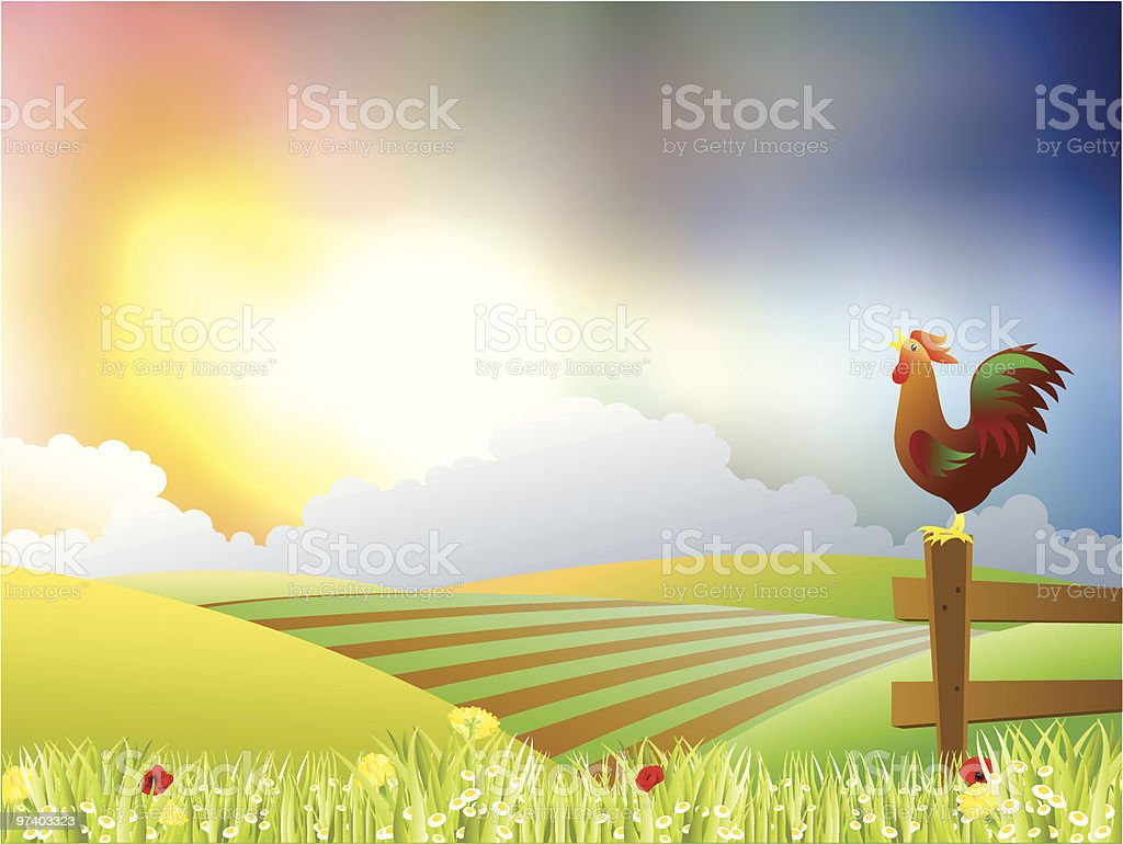Beautiful morning royalty-free beautiful morning stock vector art & more images of animal themes
