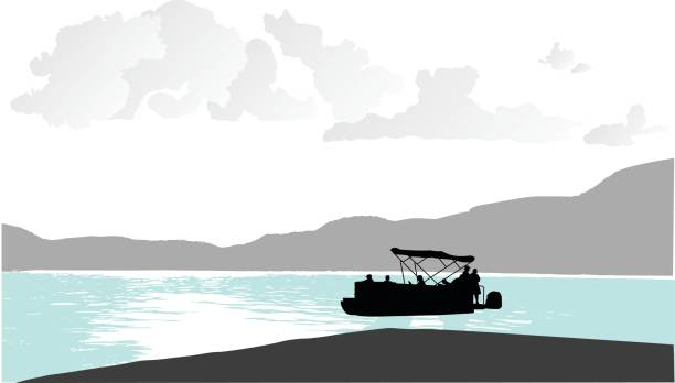 Perfect Royalty Free Pontoon Boat Clip Art, Vector Images & Illustrations  AW43