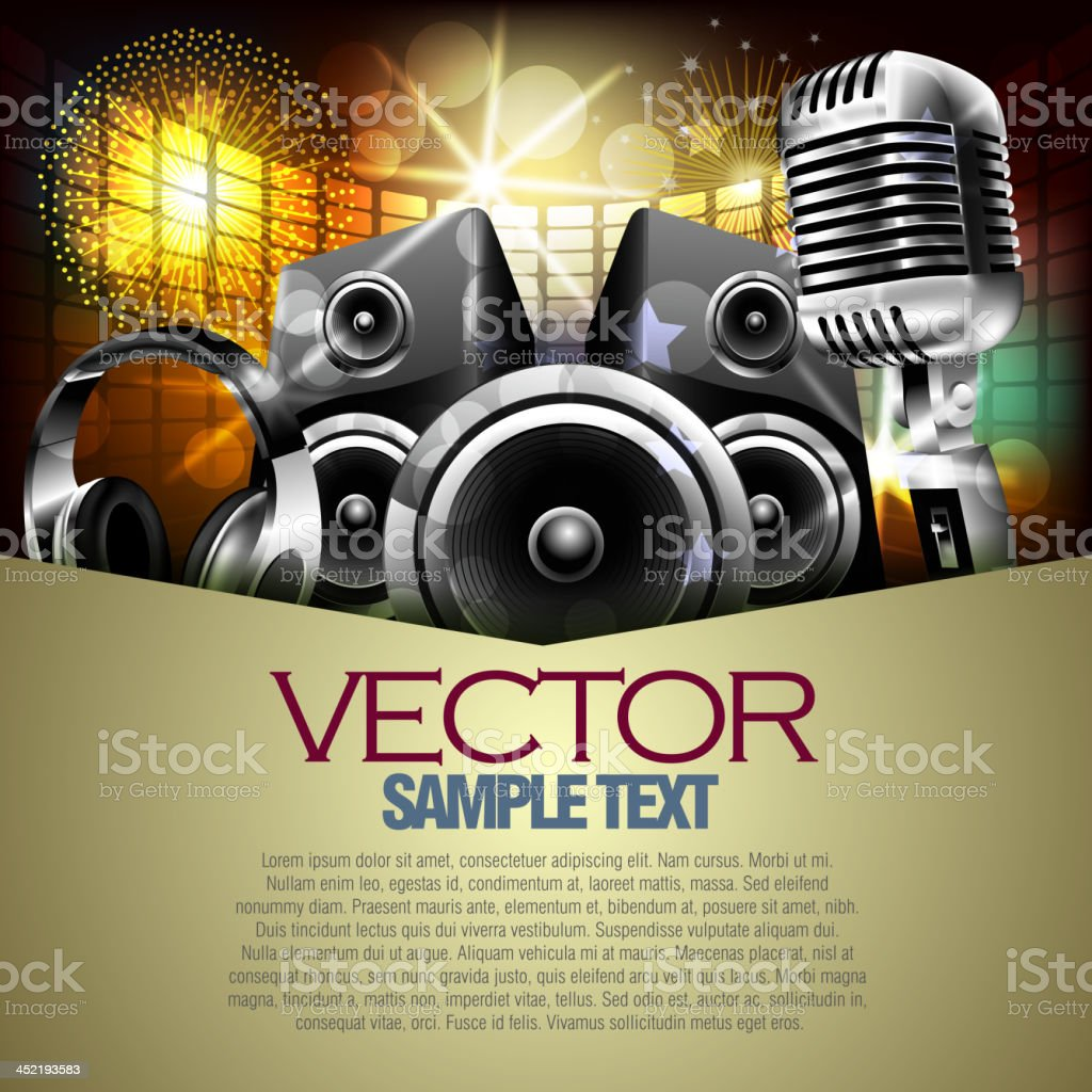 Beautiful Music Background royalty-free beautiful music background stock vector art & more images of abstract