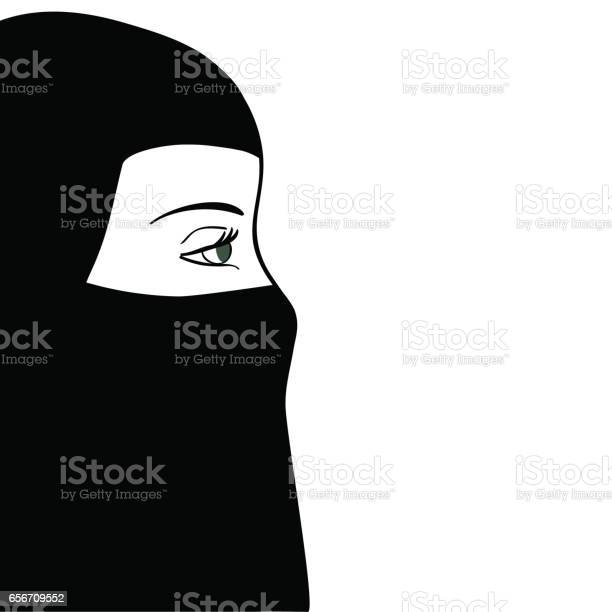 Hijab Free Vector Art 4952 Free Downloads