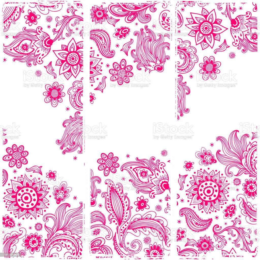 Beautiful ornament royalty-free stock vector art