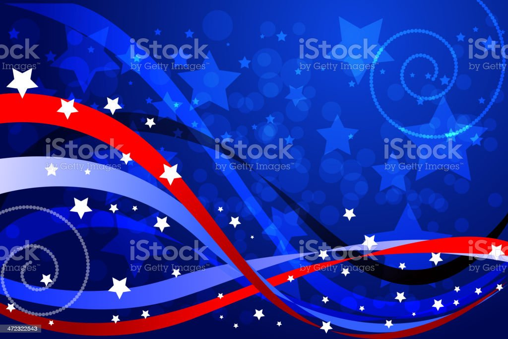 Beautiful Patriotic Background royalty-free beautiful patriotic background stock vector art & more images of abstract