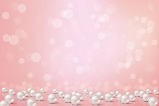 Royalty Free Pink Pearl Clip Art, Vector Images ...